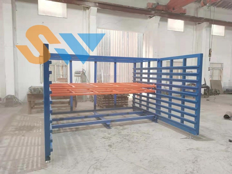 板材存储货架调试中 (1)