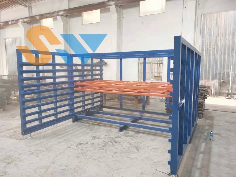 板材存储货架调试中 (2)