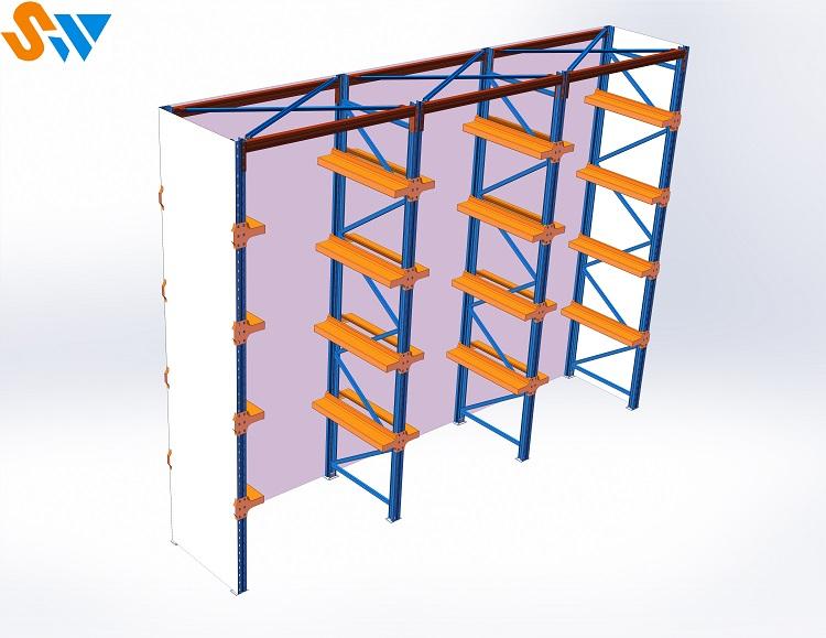 森沃仓储模具货架效果图 (1)