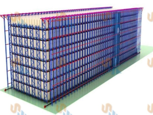 森沃仓储自动化立体库效果图展示