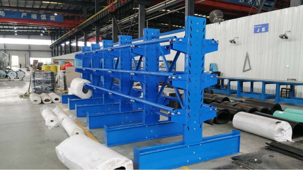 线缆悬臂货架定做案例,货架生产厂家带您观赏!