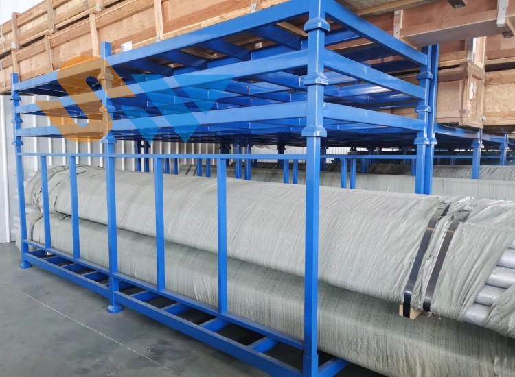 森沃仓储定做可拆卸管材堆垛架