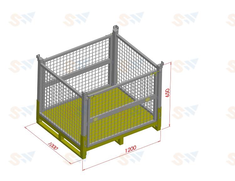 森沃仓储:钢制料箱3