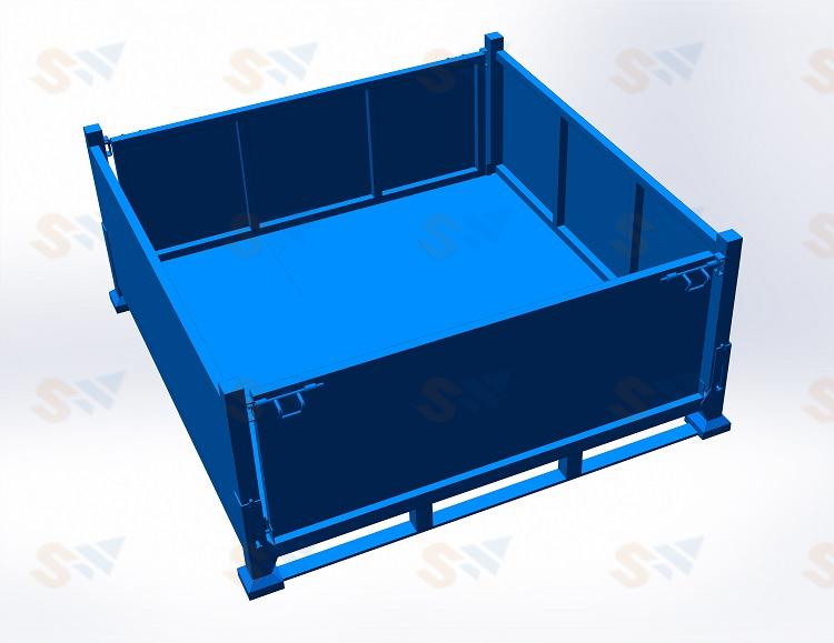 森沃仓储:钢制料箱6