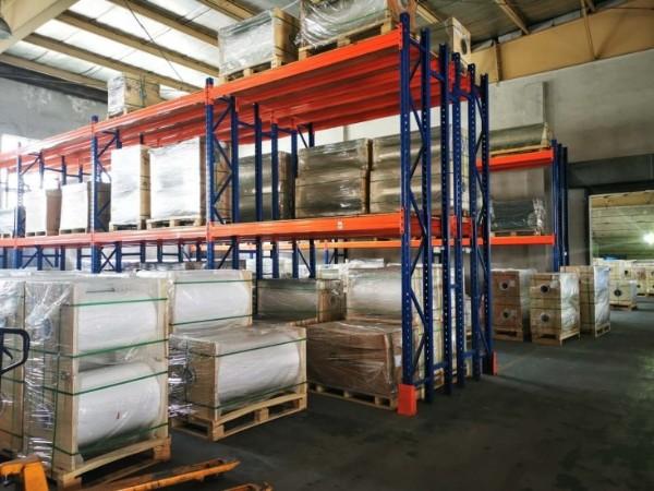 重型横梁式货架定做案例实拍图,仓储货架厂带你观赏!