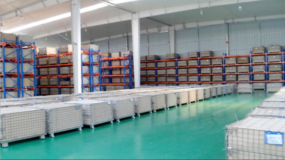 {南京}森沃仓储与冷暖设备行业的合作——重型货架