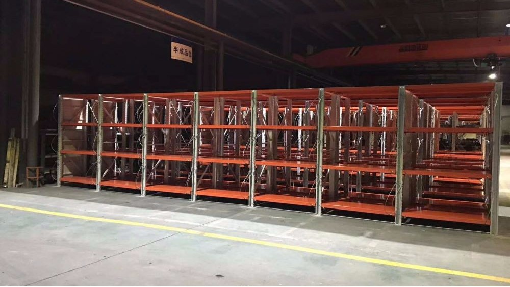 {南京}森沃仓储与第三方物流行业的合作——重型层板货架