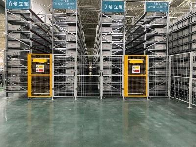 南京货架厂家:料箱式立体库项目圆满完工