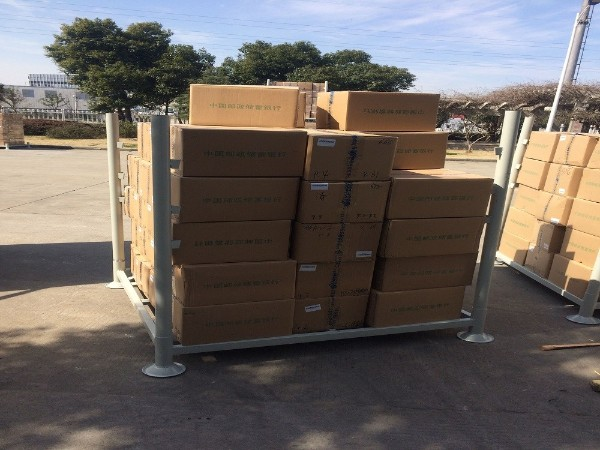 仓库中拆卸、安装方便的堆垛架(巧固架)