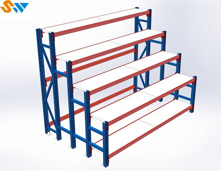 森沃仓储:花盆层板货架成品参考图