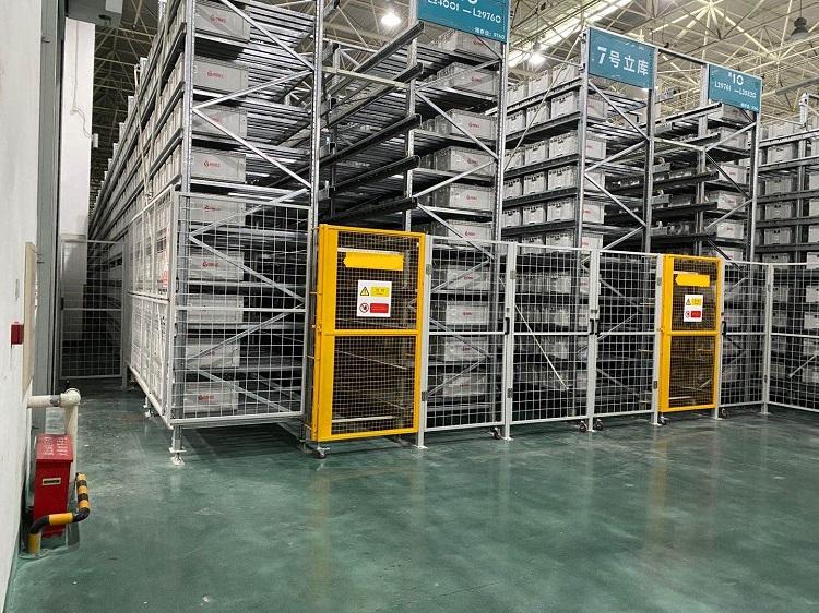森沃仓储:料箱式自动化立体库 (2)
