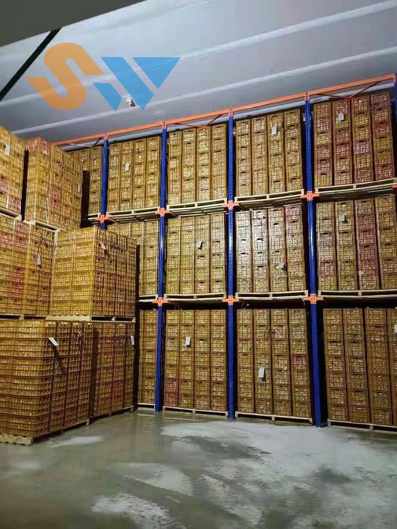 森沃仓储:正式投入使用的贯通货架 (2)