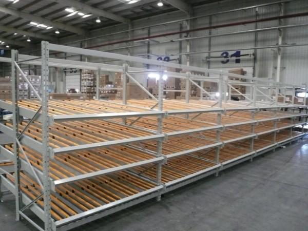 江宁货架生产厂家为你讲解:流利式货架的规格参数