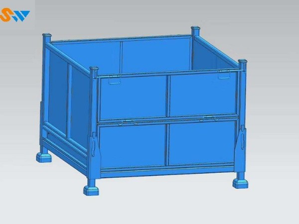 钢制料箱的结构与分类