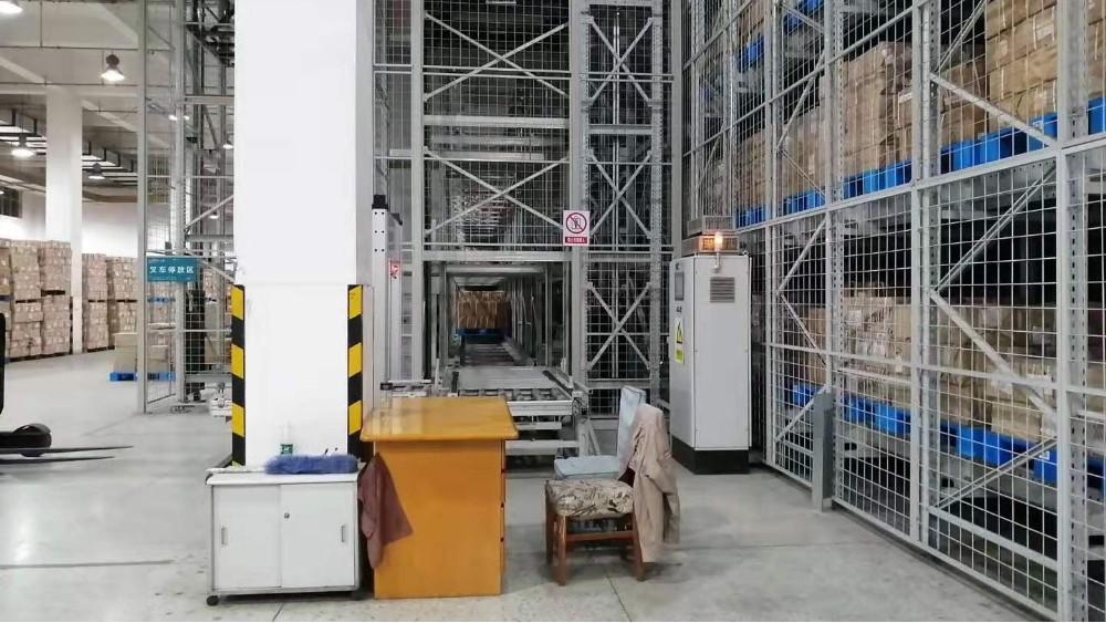 森沃仓储托盘式立体库合作案例