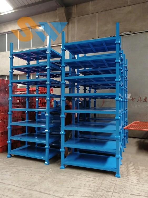 森沃仓储:堆垛架实拍图 (3)