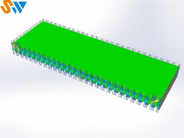 森沃仓储非标定制阁楼货架、层板货架、钢平台