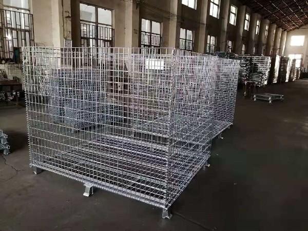 森沃仓储打造非标1800*1500*1500仓储笼