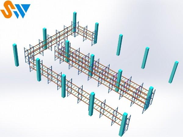 森沃个性化的重型货架设计