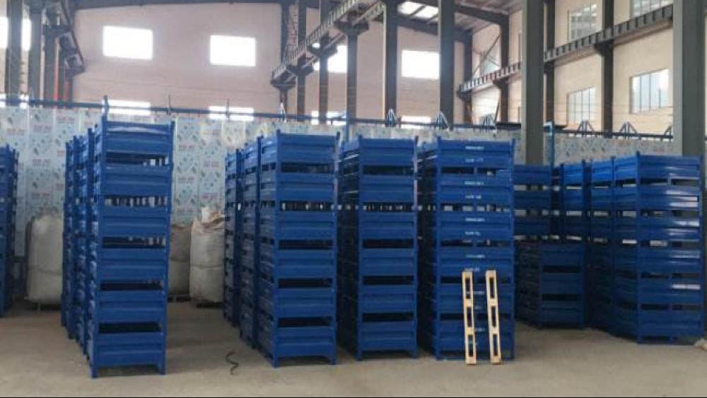 {南京}森沃仓储与威巴克企业的合作——钢制料箱