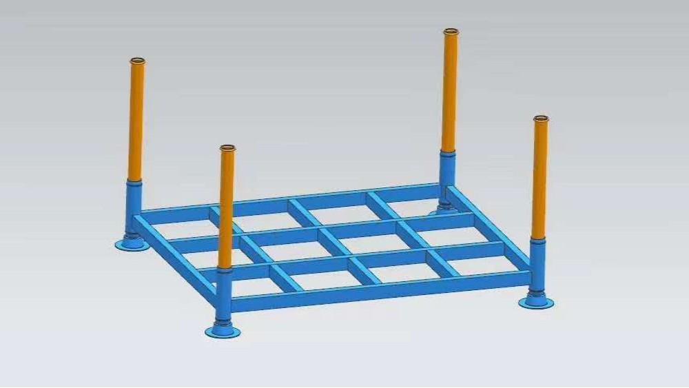 森沃仓储:可拆卸式堆垛架案例展示