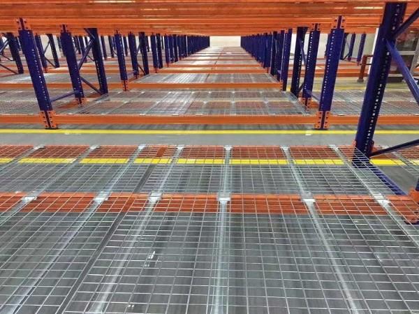 森沃仓储带你了解:钢层网、层板网、货架网片、货架层网