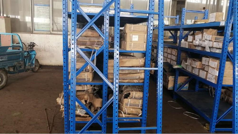三立柱搁板货架展示案例,南京货架厂家邀您观赏!