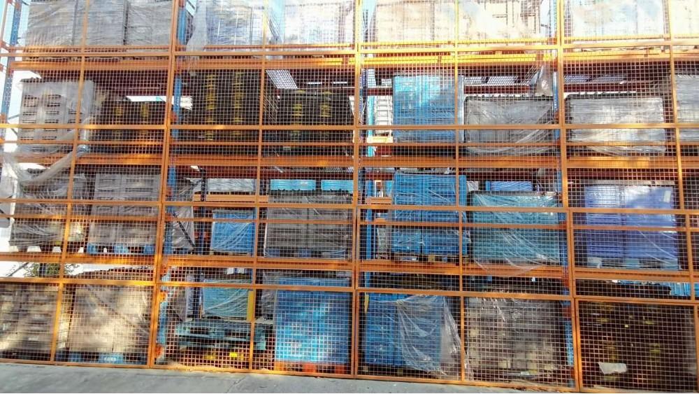 森沃仓储:室外横梁式货架定做案例展示
