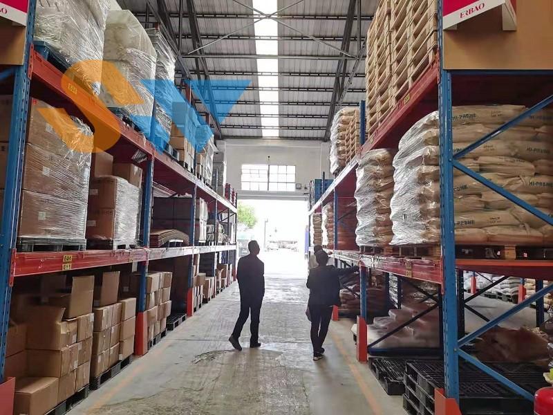 森沃仓储:重型层板货架定制案例现场 (4)