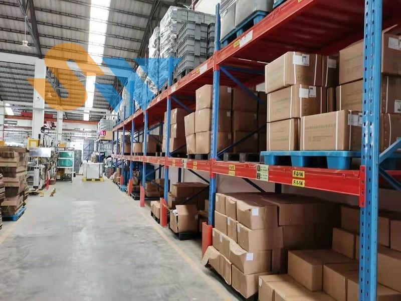 森沃仓储:重型层板货架定制案例现场 (5)