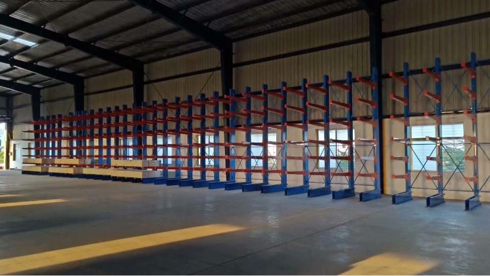 仓储货架厂:悬臂货架定做案例
