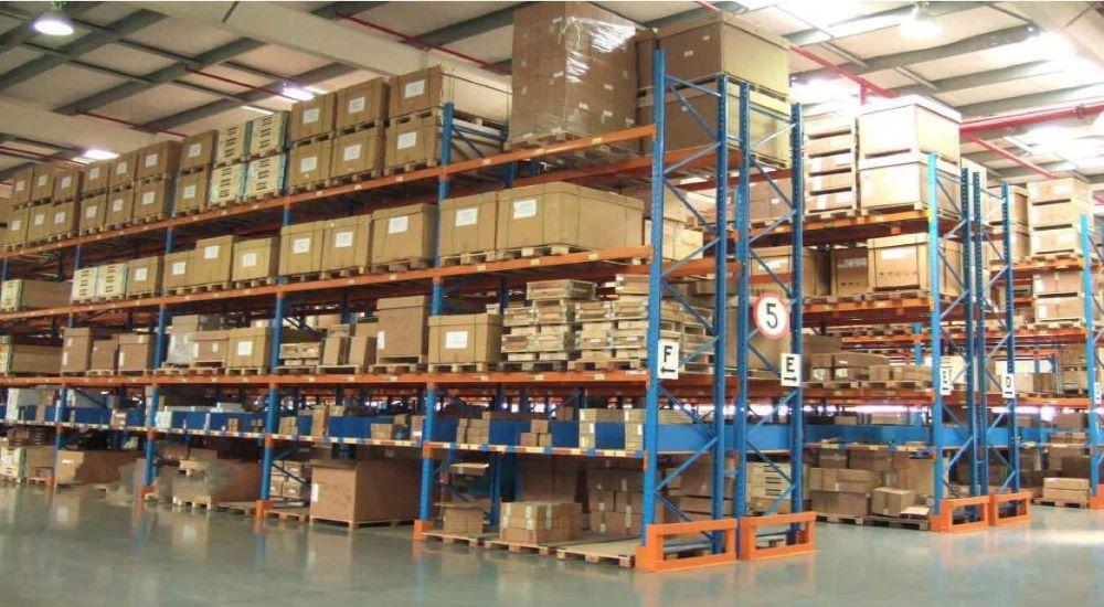 森沃仓储和佳力图公司的合作案例:重型货架