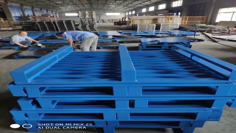 森沃仓储与食品行业的合作案例-钢托盘