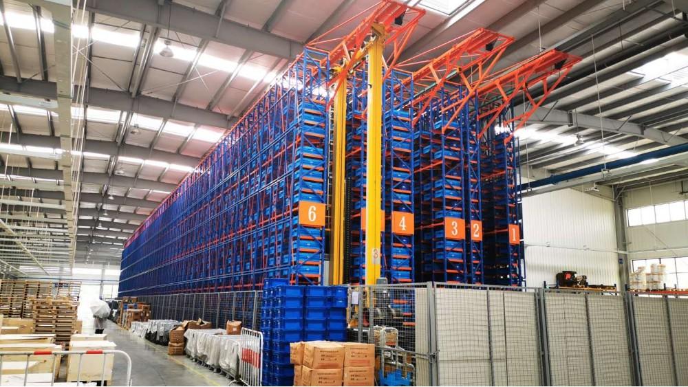 南京货架制造厂家请您观赏自动化立体库项目案例