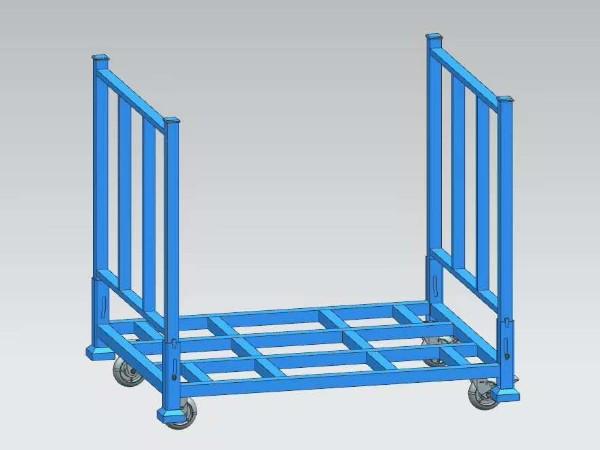 堆垛架适用于哪些行业,货架厂家给你解答!
