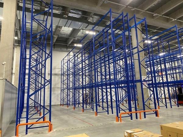 祝贺嘉兴三立柱高位货架项目安装验收完工