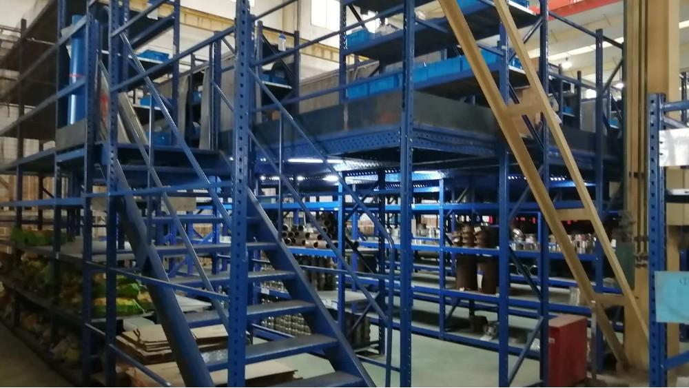 南京货架厂家:阁楼货架案例分享