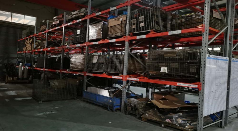 仓储货架厂家:重型横梁式货架案例展示
