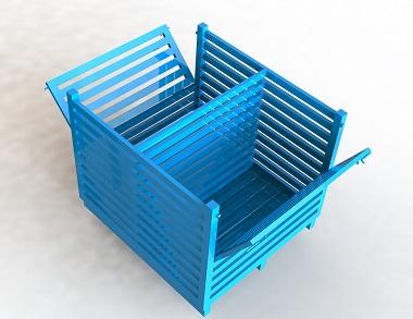 森沃仓储:非标钢制料箱 (2)