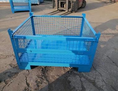 森沃仓储:非标网格钢制料箱 (1)