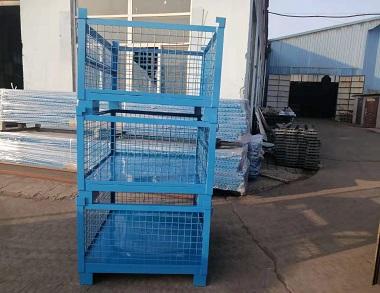 森沃仓储:非标网格钢制料箱 (2)