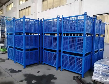 森沃仓储:固定式钢制料箱 (1)