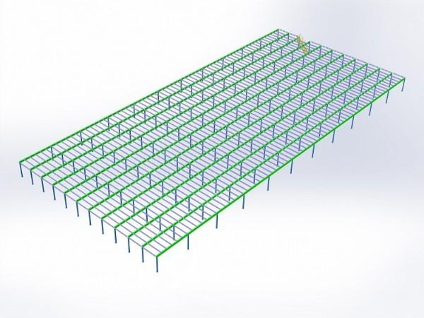 南京钢平台细节展示